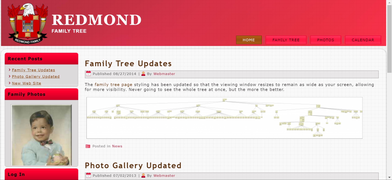 Redmond Family Tree